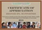 Annual Supporter - Bronze